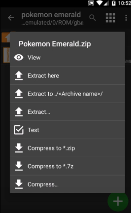 How to Extract ZArchiver APK Image